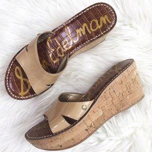 Sam Edelman : 'Reid' Wedge Sandal Size 6.5